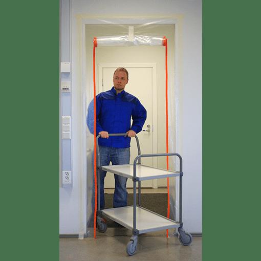 Vemek kileuks tolmutõkke kileuks kilest tolmutõke uksele tolmubarjäär 2xA-profiil  sc 1 st  Vemek tolmutõkke vahendid & Zipper Door 2xA-Profile - Vemek tolmutõkke vahendid - Kindel kaitse ...