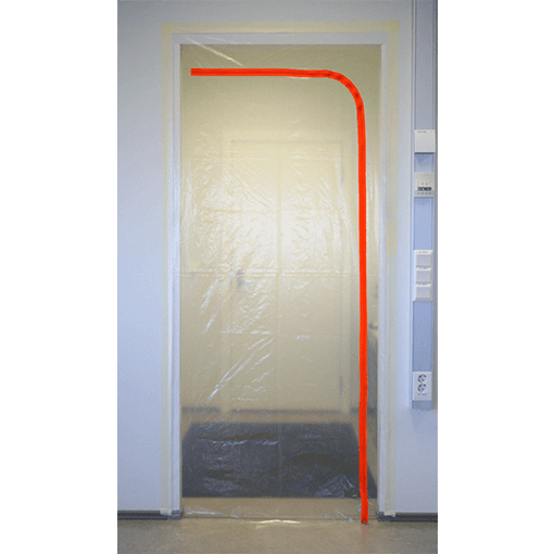 Vemek kileuks tolmutõkke kileuks kilest tolmutõke uksele tolmubarjäärid ...  sc 1 st  Vemek tolmutõkke vahendid & Zipper Door D-Profile - Vemek tolmutõkke vahendid - Kindel kaitse ... pezcame.com